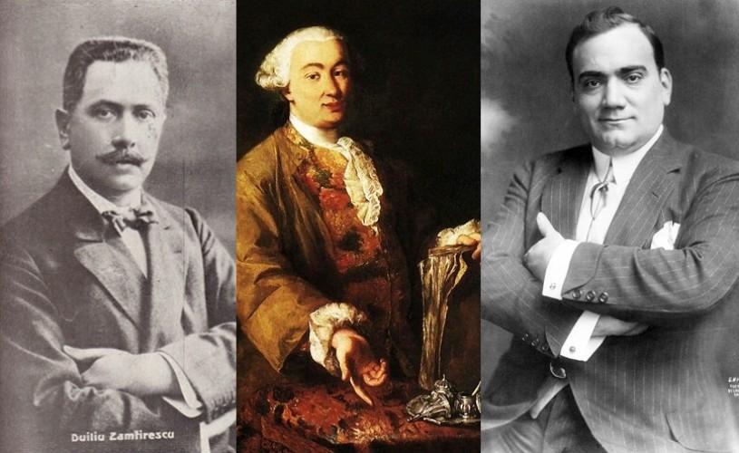 Duiliu Zamfirescu, Goldoni, Caruso