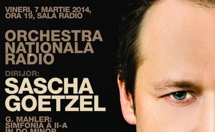 Mahler, sub bagheta lui Sascha Goetzel, la Sala Radio