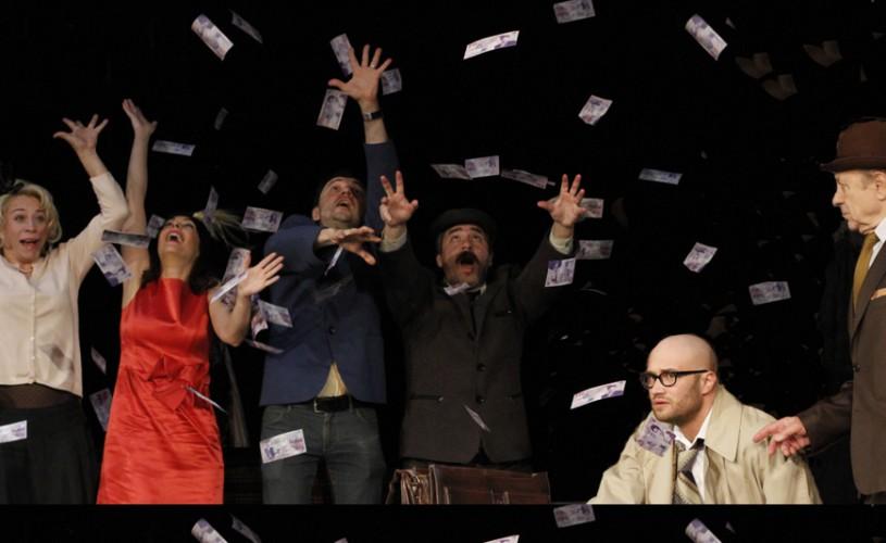 Mihai Bendeac şi o valiză plină cu bani, la Teatrul de Comedie