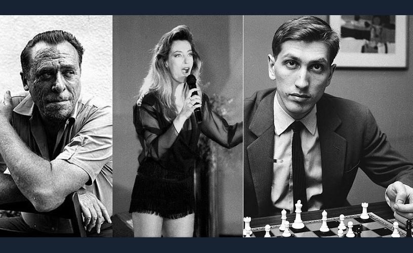 Laura Stoica, Bobby Fischer, Charles Bukowski