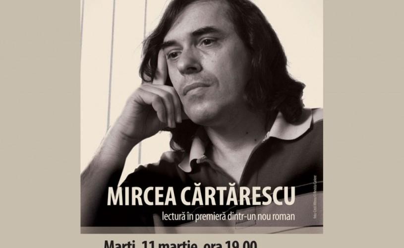 Mircea Cărtărescu – Dacă e marţi, scriitorii îţi citesc la Humanitas, Cişmigiu