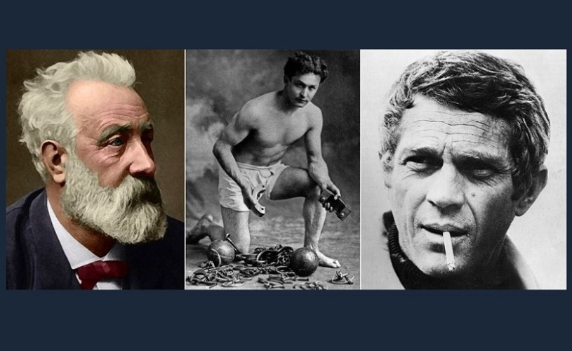 Jules Verne, Houdini, Steve McQueen