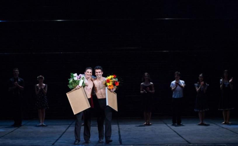 Ovidiu Matei Iancu şi Robert Enache, prim-balerini ai Baletului Naţional Român