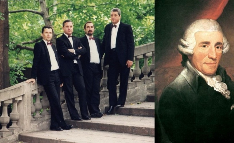 Cvartetul VOCES şi Haydn, în Săptămâna Mare, la Sala Radio