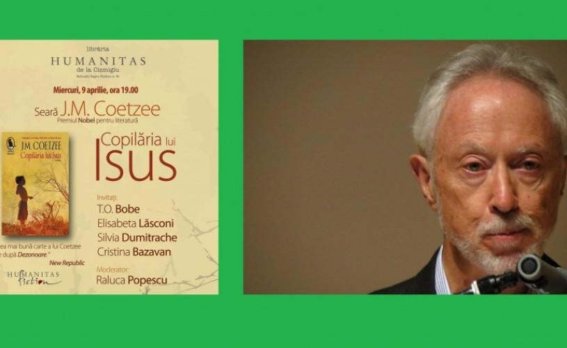 "J.M. Coetzee, astăzi, la Humanitas + lansare ""Copilăria lui Isus"""