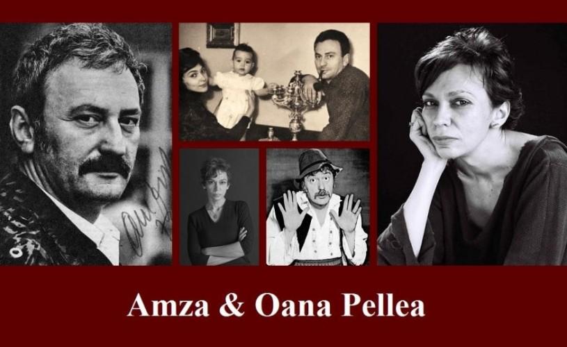 Oana Pellea în dialog cu Amza Pellea
