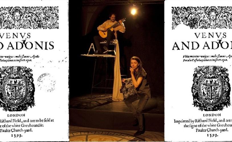 Venus si Adonis, la Mignon, la 450 de ani de la naşterea lui Shakespeare