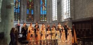 Corul Madrigal le-a adus bucurie românilor din Belgia