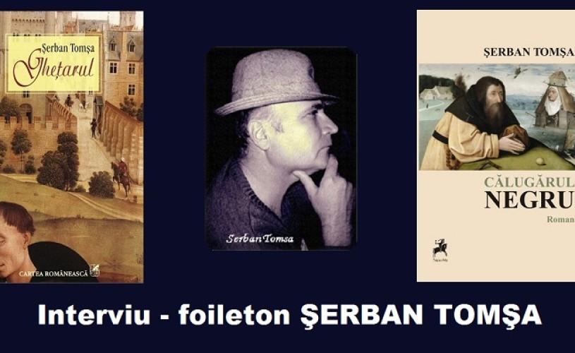 """INTERVIU Serban Tomsa (ep.4): """"Aşa se explică de ce literatura română e fărâmiţată pe feude şi familii"""""""