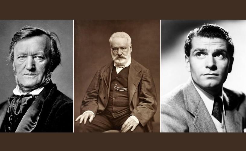 Wagner, Victor Hugo & Laurence Olivier