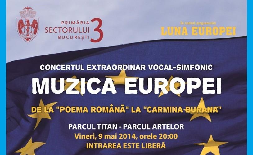 Muzica Europei – de la Poema Română la Carmina Burana