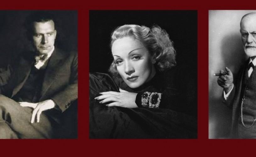 Lucian Blaga, Marlene Dietrich & Sigmund Freud