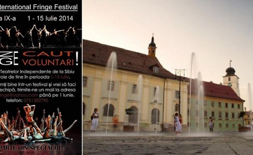 Sibiu International Fringe Festival, între 1 şi 15 iulie