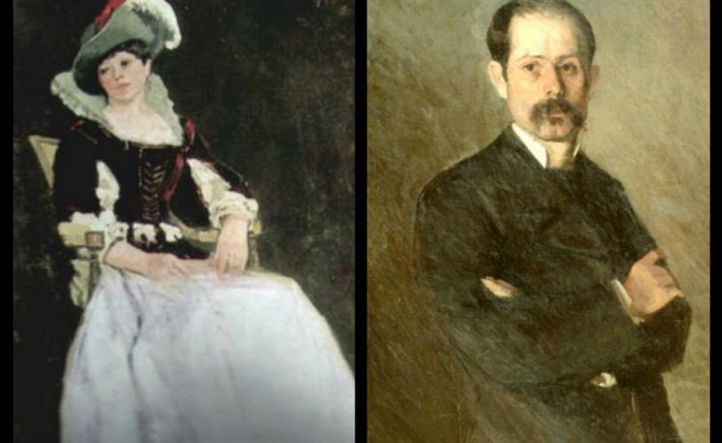 Ion Andreescu, Model costumat (Femeie în fotoliu)