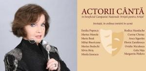 """Margareta Paslaru, lansare CD de autor - """"Actorii cântă"""""""