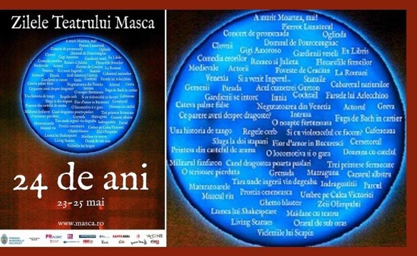 Teatrul Masca, 24 de ani!
