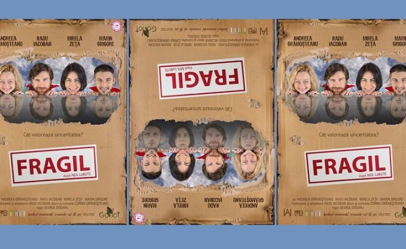 Atenţie, spectacol FRAGIL! Vineri, 27 iunie, la Godot Café-Teatru