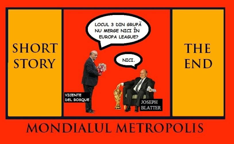 Don Vicente de la Bosque şi Fratelli d'Italia – Mondialul Metropolis