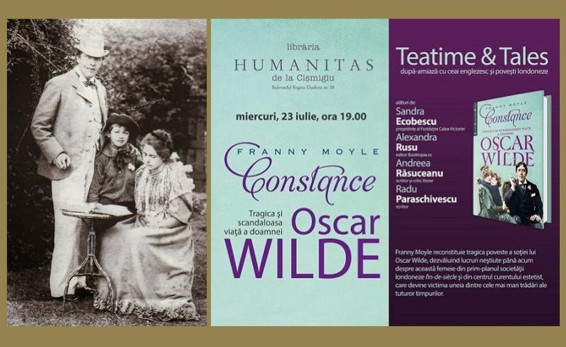 Povestea doamnei Oscar Wilde, la Humanitas Cismigiu