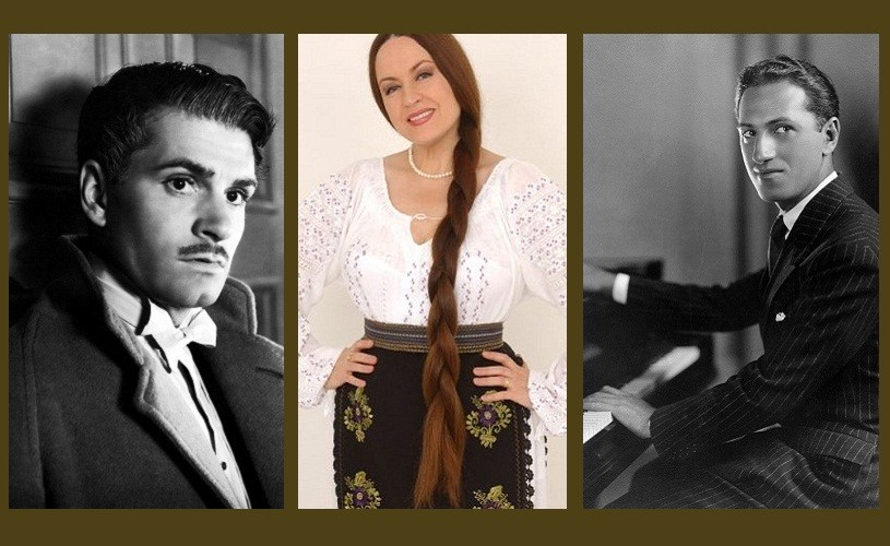 George Gershwin, Maria Dragomiroiu & Laurence Olivier