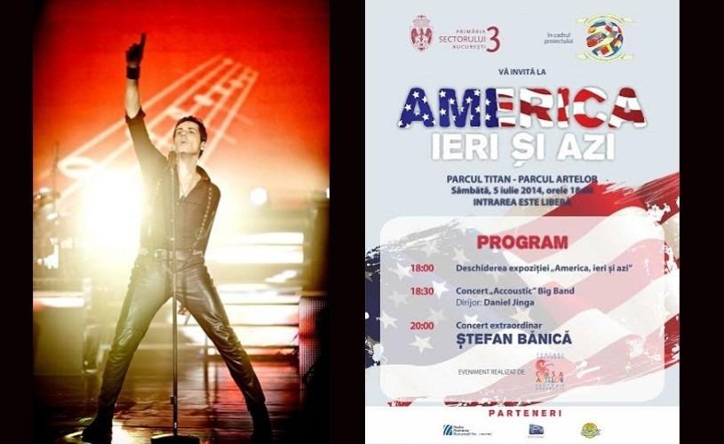 """Stefan Banica, la """"America, ieri şi azi"""", în Parcul Titan – Parcul Artelor"""