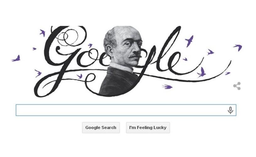 Vasile Alecsandri, sărbătorit de Google