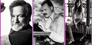 Robin Williams, Hemingway & Charlotte Gainsbourg