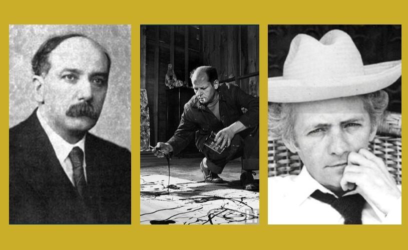 Ion Barbu, Jackson Pollock & Teodor Mazilu
