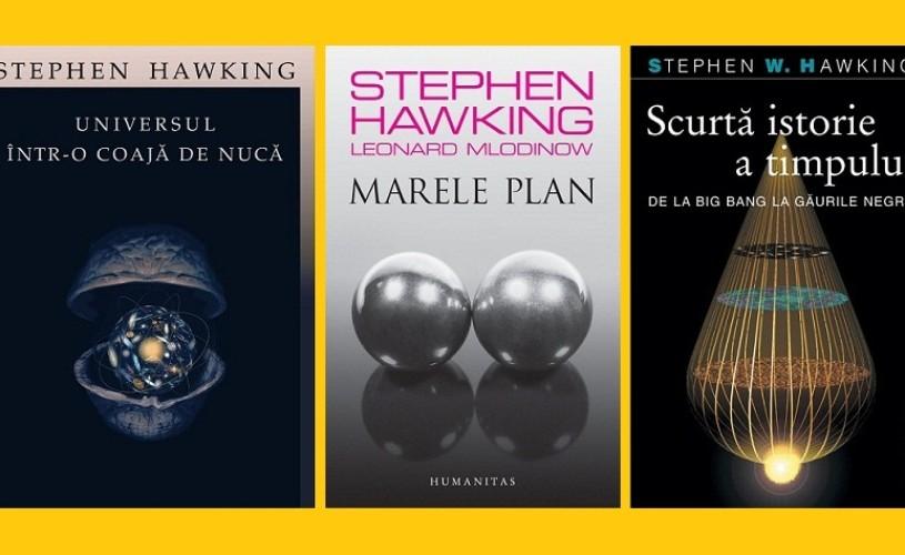 Stephen Hawking, peste 100.000 de cărţi vândute în România