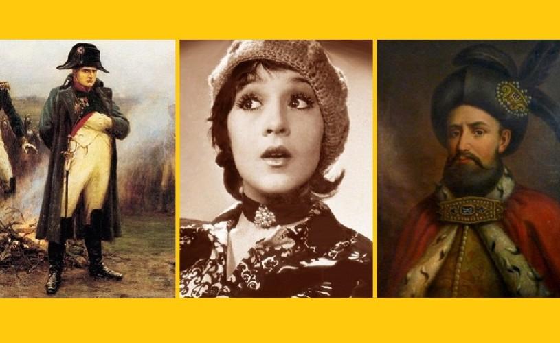 Napoleon, Anda Călugăreanu şi Constantin Brâncoveanu