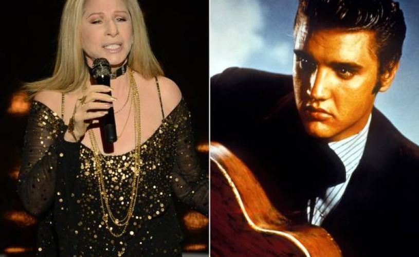 Barbra Streisand, duet cu Elvis, pe cel mai nou album al artistei