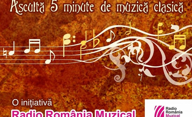 5 minute de muzică clasică, în şcolile din România