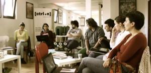 Atelier de jurnalism de film, la Control N