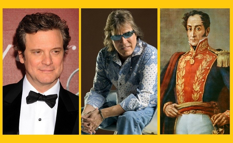 Colin Firth, Jose Feliciano şi Simon Bolivar – 10 septembrie