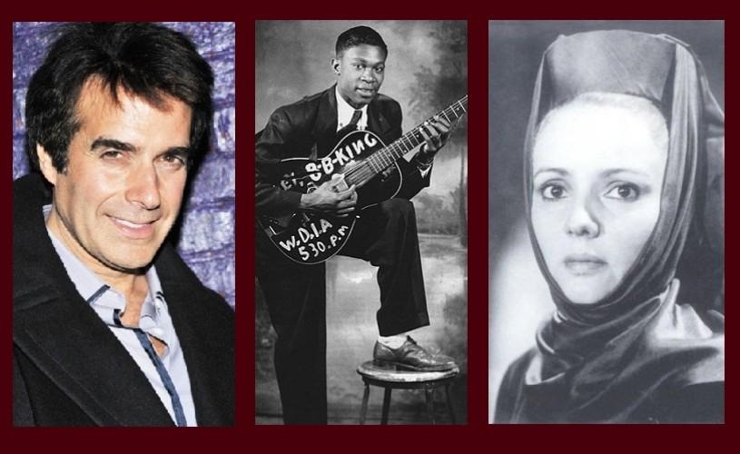 David Copperfield, B.B. King, Silvia Popovici – Ştiaţi că…?
