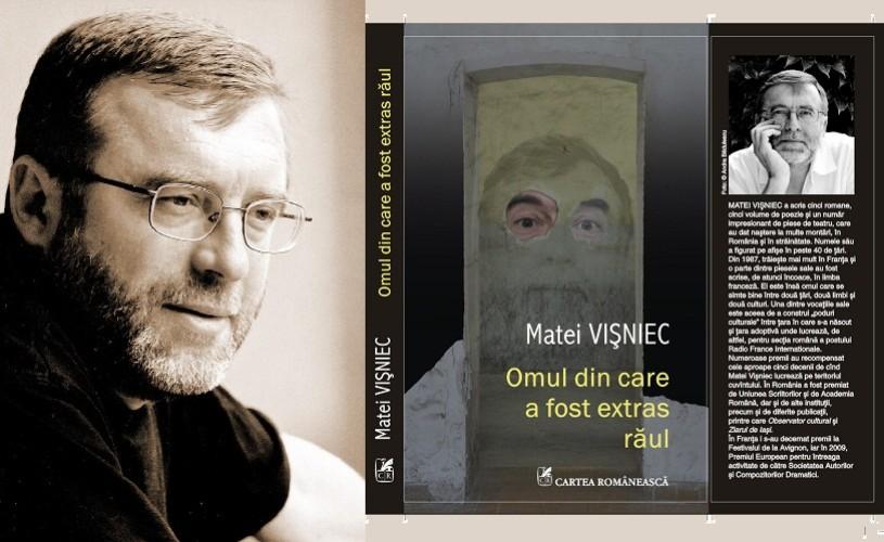 """Matei Visniec îşi lansează cartea """"Omul din care a fost extras rǎul"""" la Sibiu"""