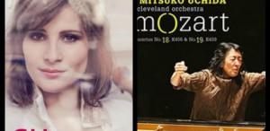 Lisa Batiashvili cântă Bach, Mitsuko Uchida - Mozart. Admirabil!