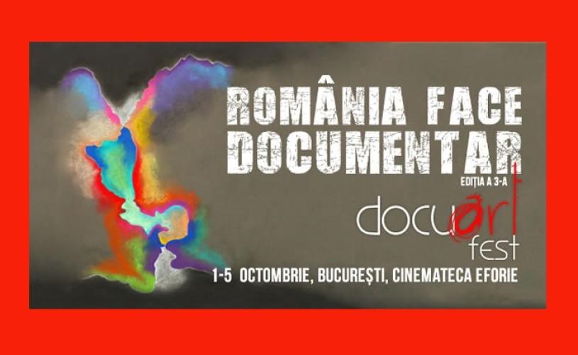 Docuart Fest 2014, la Cinemateca Eforie
