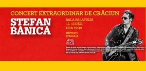 Stefan Banica concertează de Crăciun la Sala Palatului  pentru al 13-lea an consecutiv