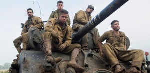"""Brad Pitt, în """"Furia: Eroi anonimi"""", cel mai bun film de război al anului"""