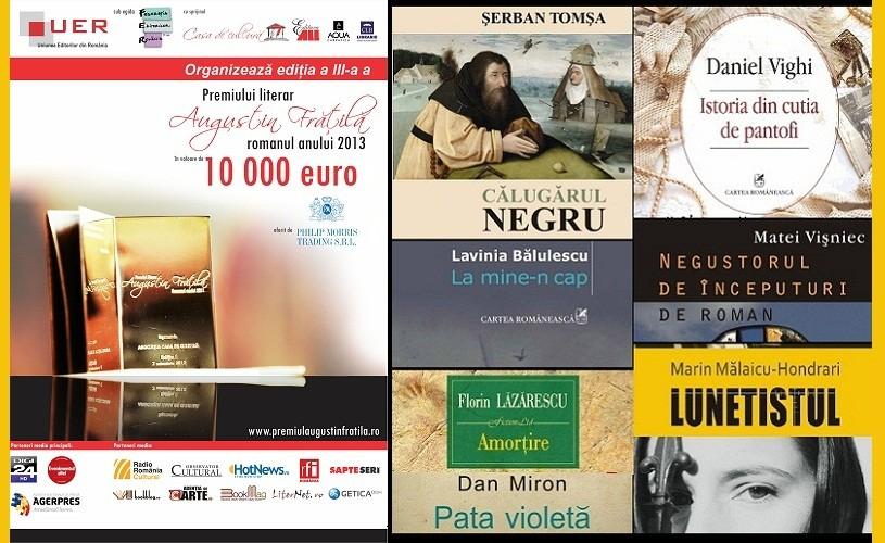 """Premiul literar """"Augustin Frăţilă"""" – 65 de romane şi un premiu de 10.000 de euro"""