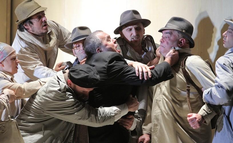 Oidip, spectacol sold-out la Festivalul Naţional de Teatru