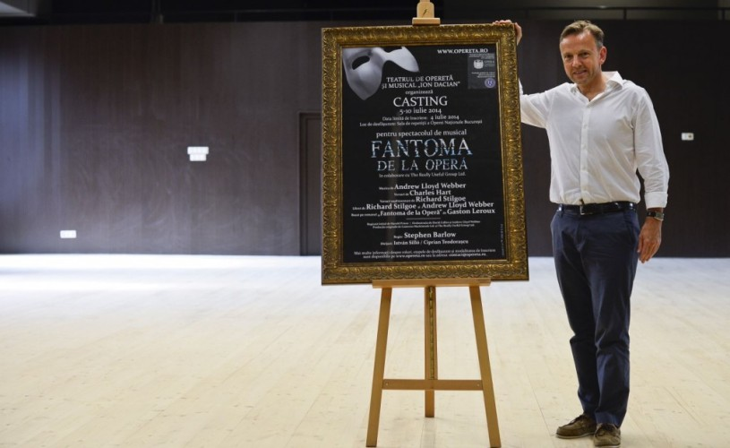 """""""Fantoma de la Operă"""", cu distribuție completă"""