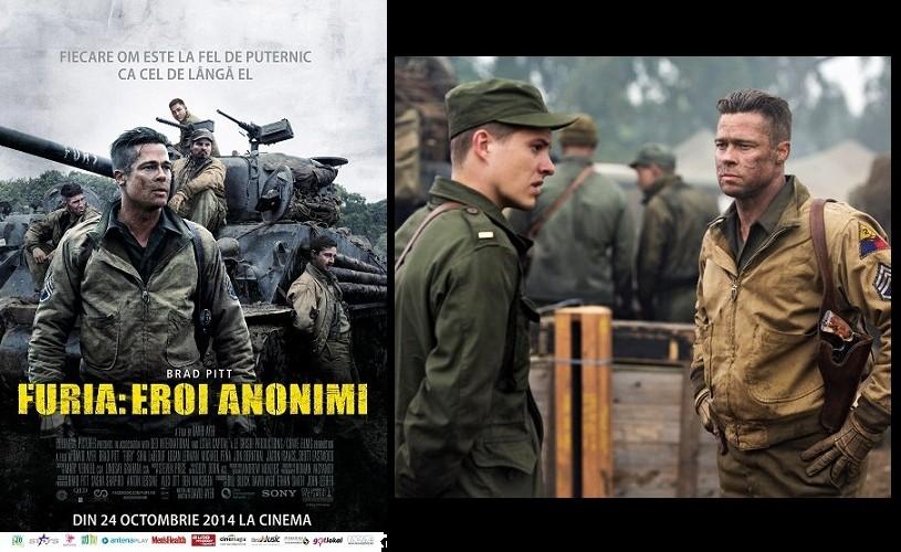Furia lui Brad Pitt spulberă box officeul românesc