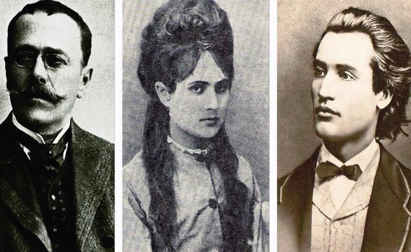 """Veronica Micle şi o iubire secretă: Caragiale. Eminescu, despre Nenea Iancu: """"Canalia""""!"""