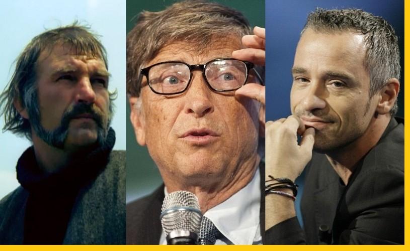 Ilarion Ciobanu, Bill Gates şi Eros Ramazzotti – Ştiaţi că…?