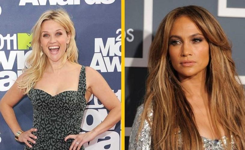 Reese Witherspoon şi Jennifer Lopez, cele mai influente femei din lume