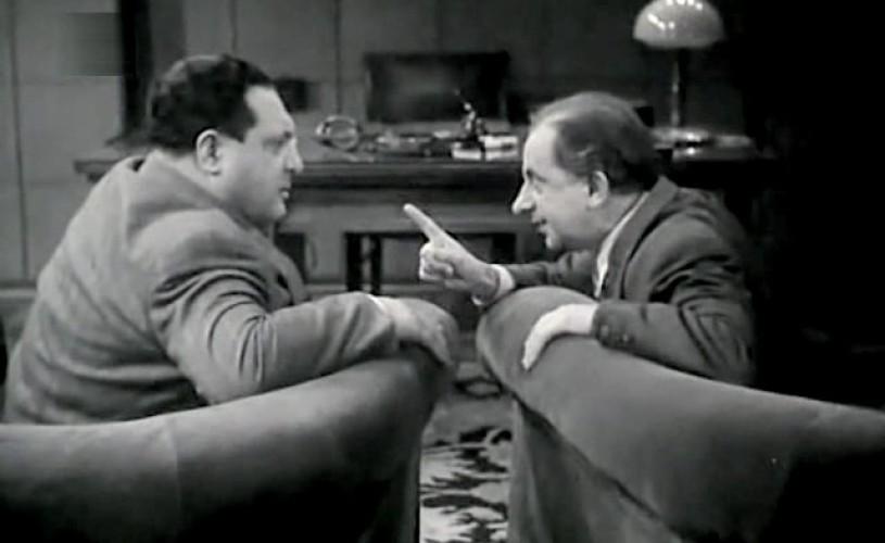 """""""Directorul nostru"""", film din 1955, cu Birlic, proiectat în Capitală"""