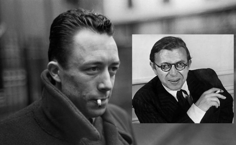 O scrisoare inedită expediată de Camus lui Sartre, descoperită în Franţa