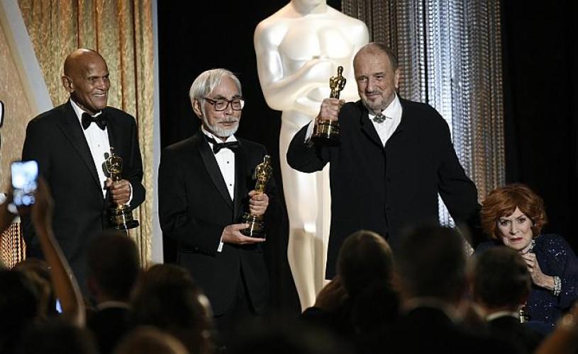 Harry Belafonte şi Hayao Miyazaki, Oscaruri onorifice